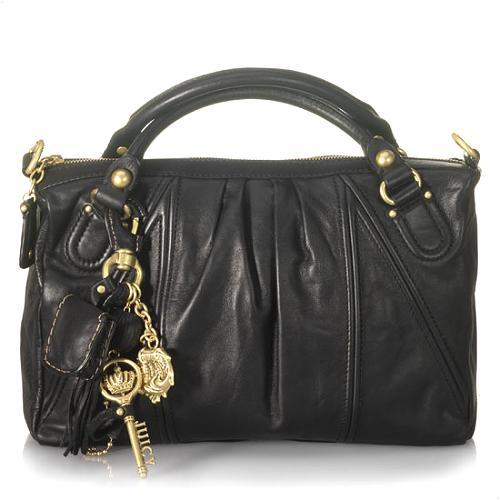 Juicy Couture Key & Shell China C Satchel Handbag
