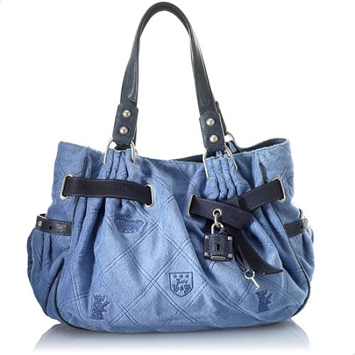 Juicy Couture Large Day Fluffy Satchel Handbag