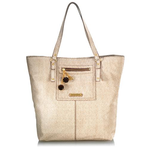 Juicy Couture Leather Paige Slim Tote