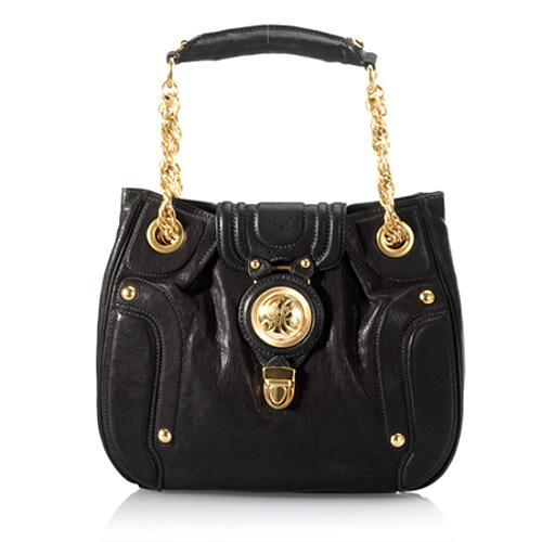 Juicy Couture Leather Shoulder Tote