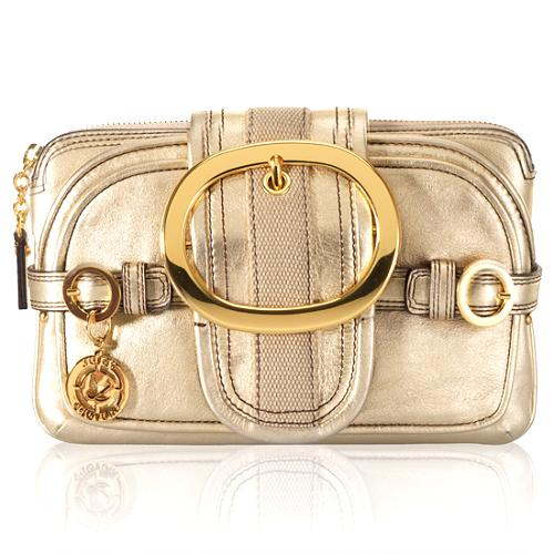Juicy Couture Leather Spright Clutch