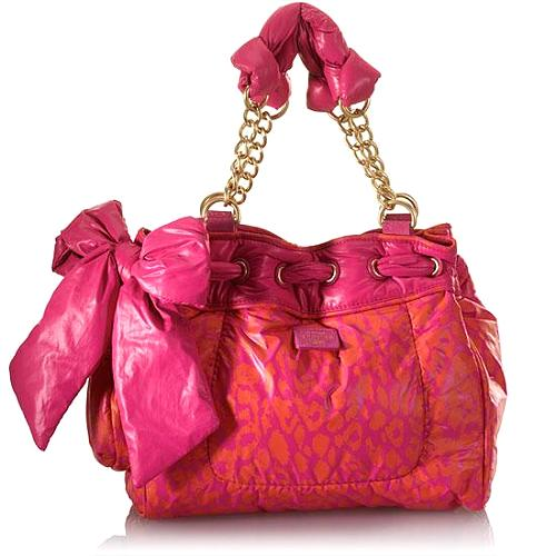 Juicy Couture Leopard Print Day Dreamer Tote