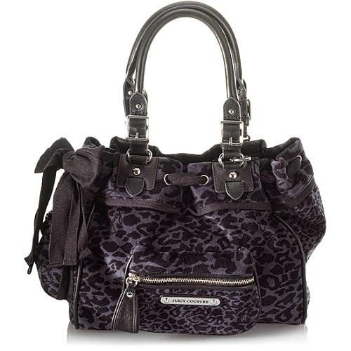 Juicy Couture Leopard Print Daydreamer Tote
