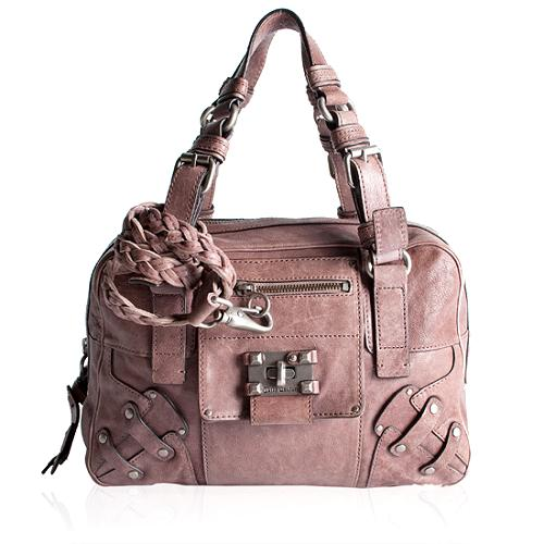 Juicy Couture Lock-It Want-It Satchel Handbag