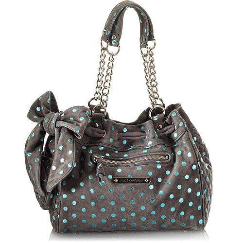 Juicy Couture Luxe Polka Dot Day Dreamer Tote
