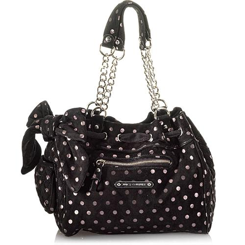 Juicy Couture Luxe Polka Dot Daydreamer Tote