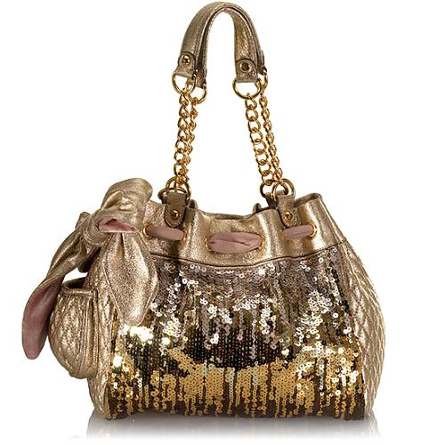 Juicy Couture Luxe Sequins Day Dreamer Tote