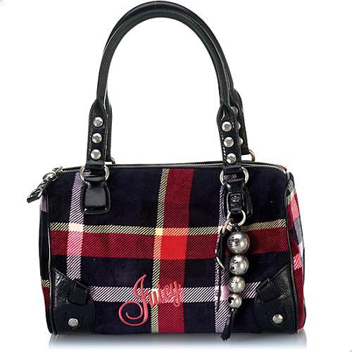 Juicy Couture Madge Velour Handbag