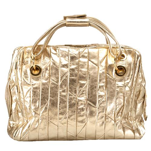 Juicy Couture Metallic Cosmetic Case