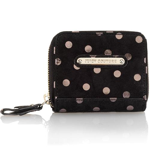 Juicy Couture Polka Dot Small French Purse