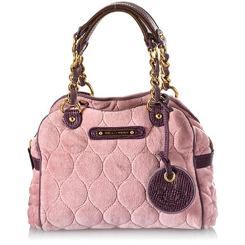 Juicy Couture Quilted Circles Darling Crossbody Handbag