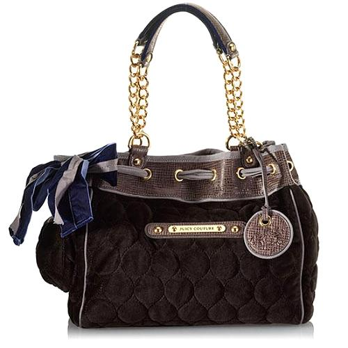 Juicy Couture Quilted Circles Day Dreamer Tote