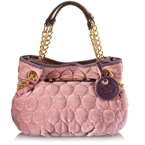 Juicy Couture Quilted Circles Duchess Tote