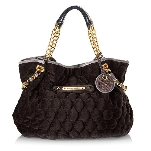 Juicy Couture Quilted Circles Large Duchess Tote
