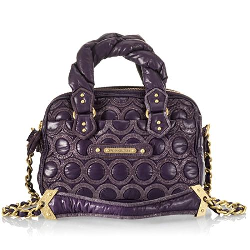 Juicy Couture Quilted Nylon/ Leather Cate Crossbody