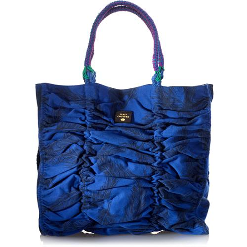 Juicy Couture Ruched Bungee Tote