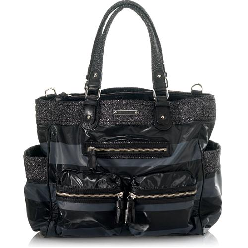 Juicy Couture Rugby Stripe Baby Bag