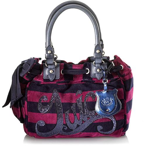 Juicy Couture Rugby Stripe Day Dreamer Tote