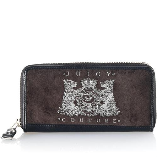 Juicy Couture Scotty Bling Zip Clutch