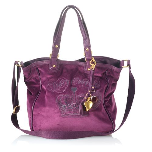 Juicy Couture Sequin Crown Tote
