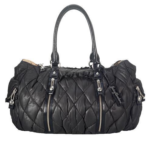 Juicy Couture Serena Quilted Nylon Satchel Handbag