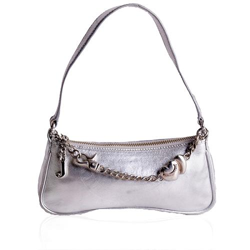 Juicy Couture Small Leather Demi Shoulder Handbag