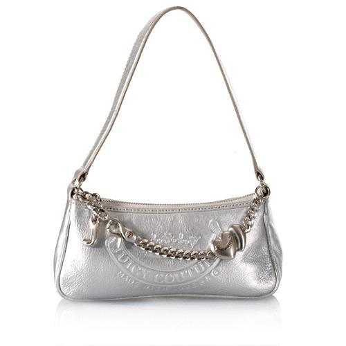 Juicy Couture Small Leather Demi Shoulder Handbag