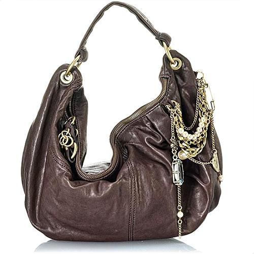 Juicy Couture Squire Leather Handbag