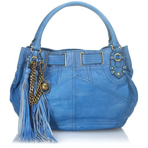Juicy Couture Tassel Free Style Satchel Handbag