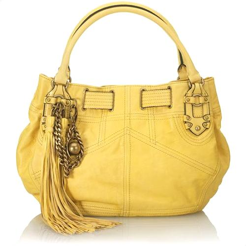 Juicy Couture Tassel Free Style Satchel Handbag