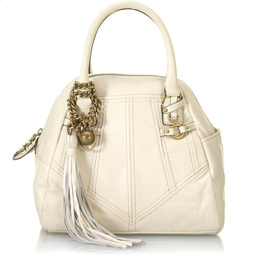 Juicy Couture Tassel Small Bowler Handbag
