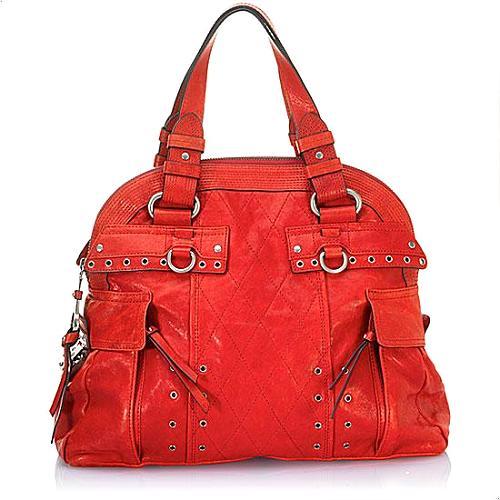 Juicy Couture The Queens Garden Leather Handbag