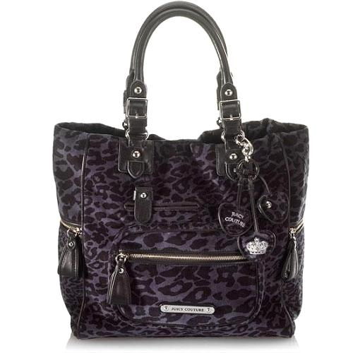 Juicy Couture Tyler Leopard Print Tote