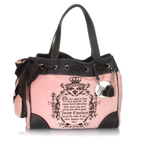 Juicy Couture Velour Day Dreamer Tote - FINAL SALE