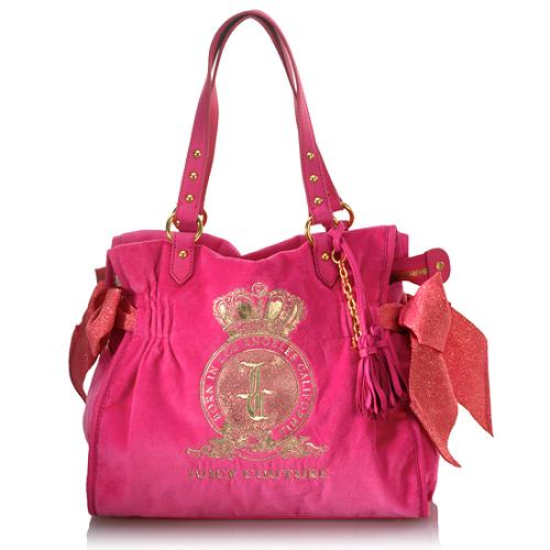 Juicy Couture Velour Ms. Daydreamer Tote