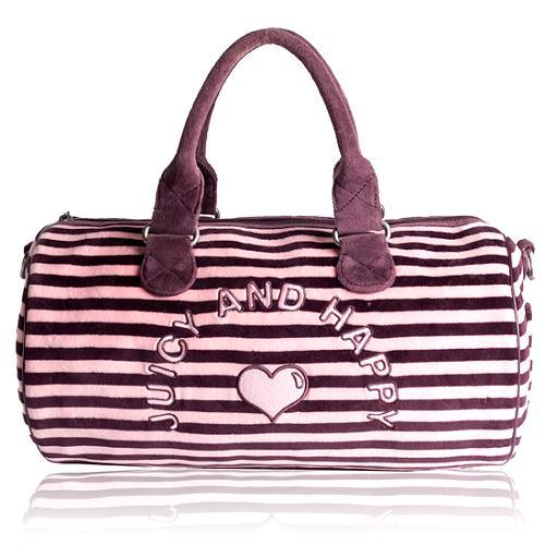 Juicy Couture Velour Satchel Handbag