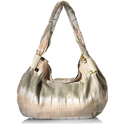 Kara Ross Tie Dyed Leather Satchel Handbag