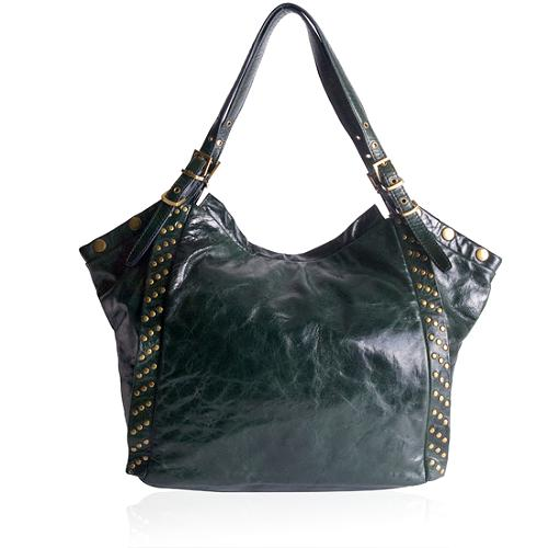 Kooba Alex Leather Shoulder Handbag
