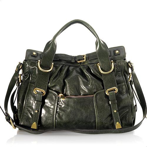 Kooba Carter Leather Satchel