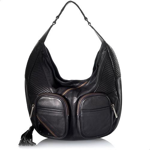 L.A.M.B. Camberley Haden Large Hobo Handbag