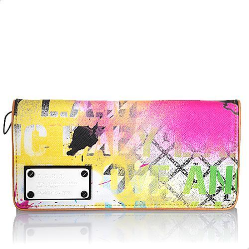 L.A.M.B. Flap Clutch Wallet