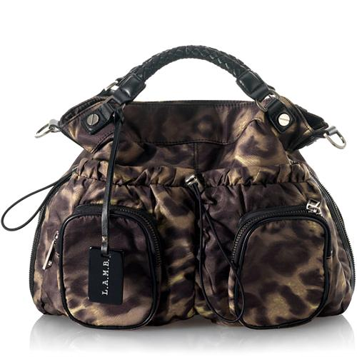 L.A.M.B. Freestyle Brandwell Large Crossbody Handbag