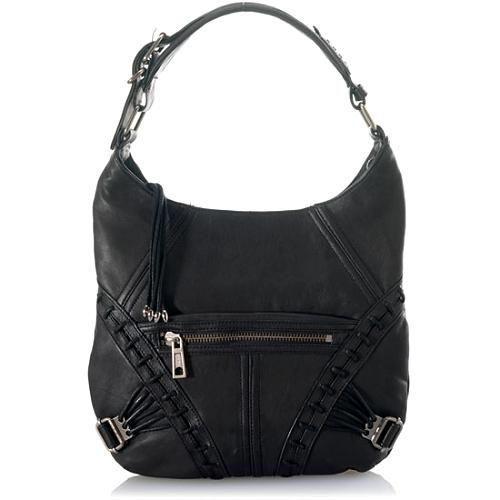 L.A.M.B. Laced Up Greta Hobo Handbag