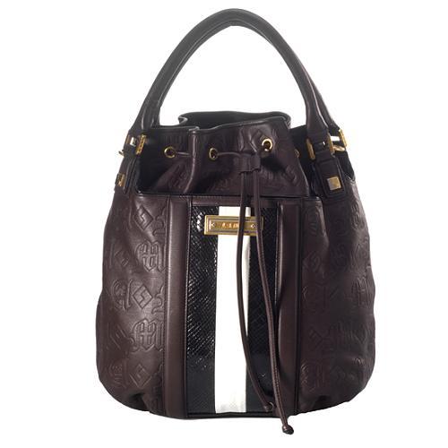 L.A.M.B. Leather Covey Handbag