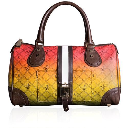 L.A.M.B. Rasta Mandeville Satchel Handbag