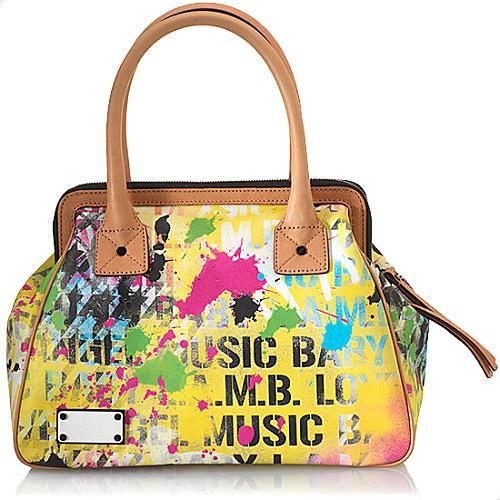 L.A.M.B. Rowland Satchel Handbag