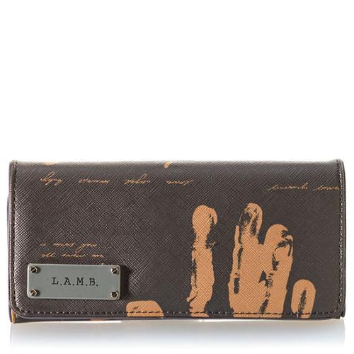 L.A.M.B. Signature Angel Clutch Wallet