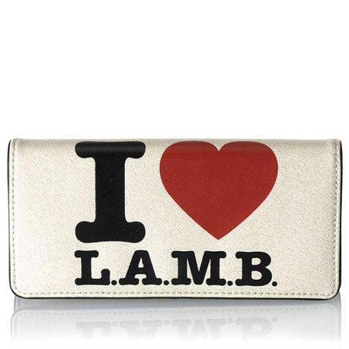 L.A.M.B. Signature Clutch Wallet