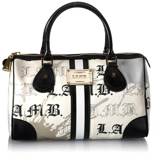 L.A.M.B. Signature Collection Cambridge Boston Handbag