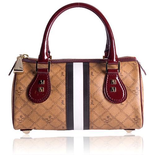 L.A.M.B. Signature Morant Small Satchel Handbag